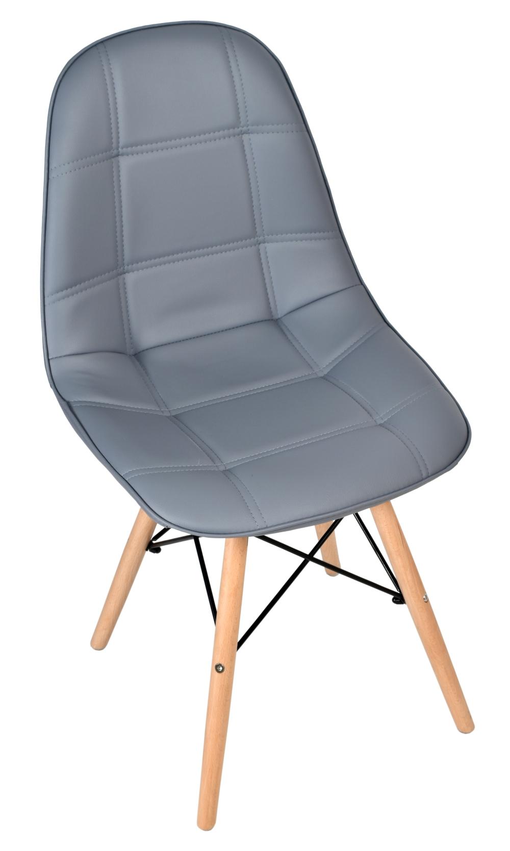 Krzesło tapicerowane DSW Lyon szary | eHokery.pl – Tanie